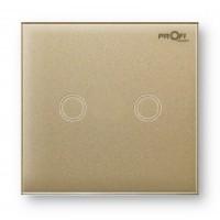 Выключатель сенсорный Profi therm 2TP, Pure Gold