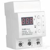 Реле контроля напряжения с термозащитой ZUBR D40t